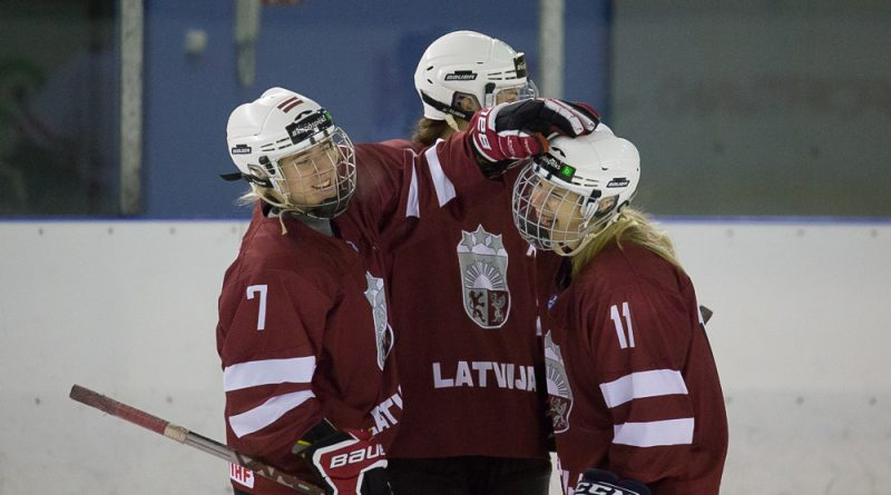 Pārbaudes spēles sieviešu hokeja izlase