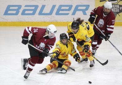 Latvijas sieviešu hokeja izlase turnīru Polijā noslēdz ar uzvaru un otro vietu