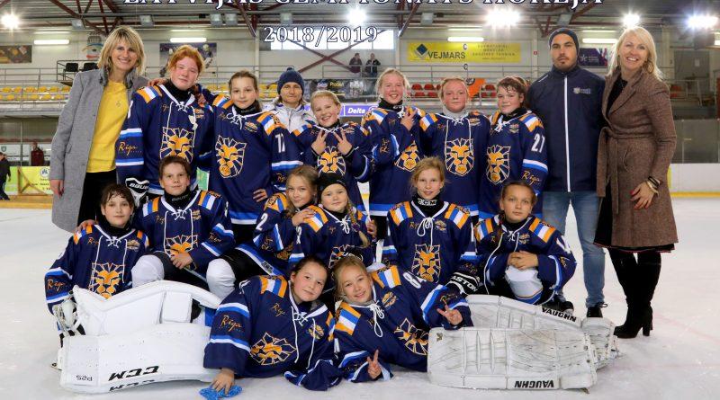 Meiteņu hokeja komanda Rīga